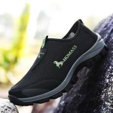 Tahan lama Sepatu Olahraga Luar Ruangan Pria Super Bernapas Sepatu Jala Sepatu Hiking Lembut Sepatu Berjalan Kasual Sepatu Trekking Pria Mode Sepatu kets sepatu santai Men's Outdoor Sports Shoes Mesh Shoes Hiking Shoes Trekking Shoes Fashion Sneakers
