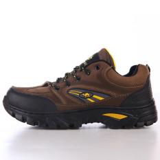 Daftar Harga Tahan Slip Tahan Air Non Slip Sepatu Sepatu Hiking 026 Coklat Gelap Other