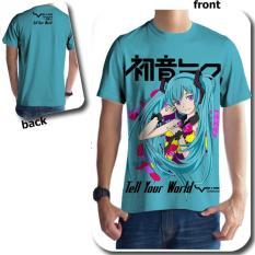 Toko Tailed Fox T Shirt Hatsune Miku Jawa Tengah