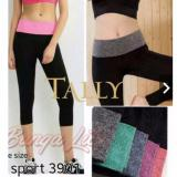 Spek Tally Celana Sport Wanita Black Pink