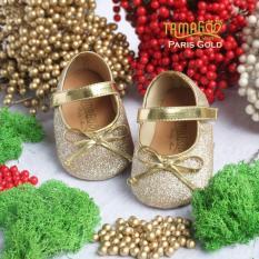 Toko Tamagoo Sepatu Bayi Perempuan Baby Shoes Prewalker Paris Gold Di Jawa Barat