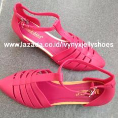 Jual Beli Tamara Jelly Shoes Warna Merah Di Indonesia