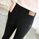 Beli Tambah Beludru Baru Musim Gugur Dan Dingin Lebih Tebal Bottoming Celana Hitam Baju Wanita Celana Wanita Cicilan