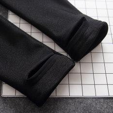 Beli Tambah Beludru Hitam Pinggang Tinggi Adalah Celana Tipis Legging Lebih Tebal Beludru Injak Kaki Model Oem Dengan Harga Terjangkau