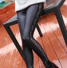 Harga Tambah Beludru Perempuan Pakaian Luar Musim Dingin Legging Lebih Tebal Hangat Celana Bagian Tipis Baju Wanita Celana Wanita New