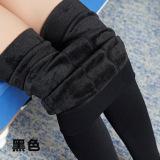 Review Toko Tambah Beludru Wanita Pakaian Luar Terlihat Langsing Celana Legging Hitam