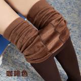 Spesifikasi Tambah Beludru Yard Besar Musim Dingin Celana Panjang Legging Kopi Warna Baju Wanita Celana Wanita Dan Harga