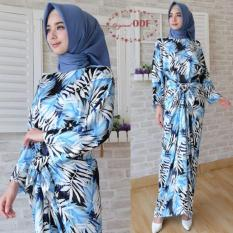 Tamiko Fashion Maxi Ikat 223 Blue Tamiko Fashion Diskon 40