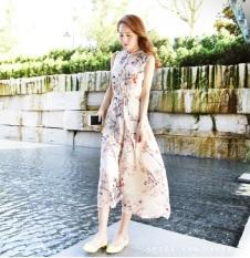 Persia Perempuan Baru Pantai Rok Pantai Gaun (Dangkal Mati-Putih)
