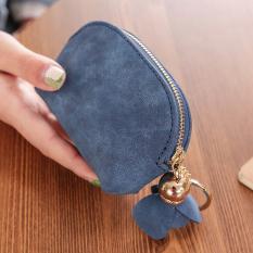 Beli Tango Lucu Tas Jepang Dan Korea Fashion Style Mini Dompet Kartu Dompet Kecil Biru Tua Tas Tas Wanita Dompet Wanita Dengan Kartu Kredit