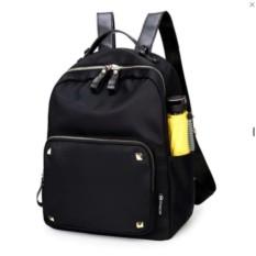 Toko Tania Ransel Wanita Water Proof Backpack Korean Style Tas Punggung Hitam Yang Bisa Kredit