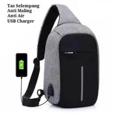Jual Tas Anti Maling Anti Theft Backpack Smart Back Pack Usb Charger Tas Ori