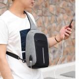 Ulasan Lengkap Tentang Tas Anti Maling Sling Bag Pria Wanita Usb Charger Impor