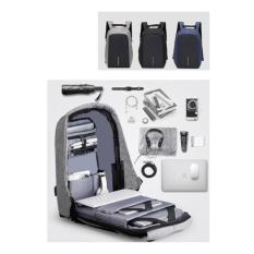 Tas Anti Maling / Smart Backpack Premium Xd + Usb Charger Port - 5B9caa