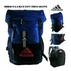 Tas Backpack Laptop Pria Wanita Traveller Ransel Sekolah Kuliah Adidas - Qpvzq4