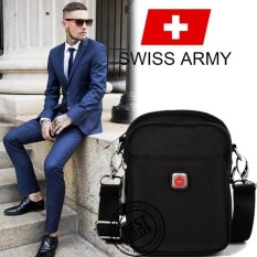 Tas Bahu Swiss Army Swiss Brand Knife Hight Quality For Pria Tas Multifungsi Waterproof Simple And Trendy