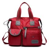 Ulasan Mengenai Tas Baru Nilon Tas Kain Tas Wanita Merah M1733