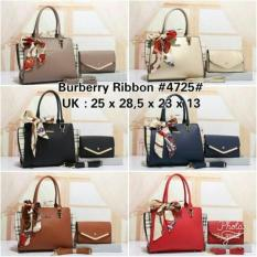 TAS BATAM BRANDED BURBERRY RIBBON Series J-4725#