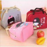 Review Tentang Nnc Tas Bekal Motif Gadis Jepang Lucu Cooler Bag Motif Japanese G*rl Tas Wanita