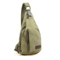 Promo Tas Bodypack Bag Selempang Pria Bahan Jeans Army Green Di Yogyakarta