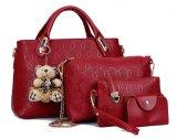 Harga Tas Branded Wanita Fashion Wanita 4 In 1 Dengan Boneka Merah Tas Branded Wanita Terbaik