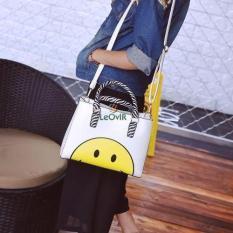 Spesifikasi Tas Branded Wanita Top Handle Bags Pu Leather White 82362 Murah Berkualitas