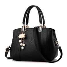Beli Tas Branded Wanita Top Handle Bags Pu Leather Black 82120 Murah Indonesia