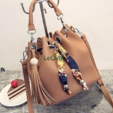 Jual Tas Branded Wanita Wristlets Bags Pu Leather Brown 87269 Branded Murah