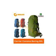 Tas Carrier Consina Bering 60 Liter ransel gunung hiking keril kerill