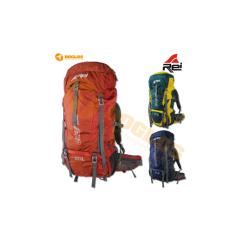 Tas Carrier Rei Elbrus 60L + RC keril rucksack gunung outdoor hiking