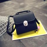 Tas Fashion 2112 Import Bag Wanita Korean Style Hitam Dami Diskon