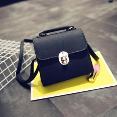 Tas Fashion 2112 Import Bag Wanita Korean Style Hitam Murah