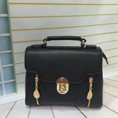 Toko Tas Fashion 2879 Import Bag Wanita Korean Style Hitam Termurah