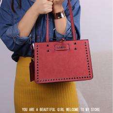 Tas Fashion 3301# Import Tas Selempang & Bahu Wanita Korean Style - Pink