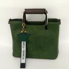 Jual Tas Fashion 801 Import Bag Wanita Korean Style Hijau Murah