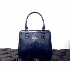 Harga Tas Fashion 815 Import Bag Wanita Korean Style Biru Fullset Murah