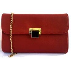 Jual Tas Fashion Bagus Beauty Sling Bag Maroon Antik
