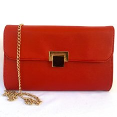 Diskon Tas Fashion Bagus Beauty Sling Bag Red Branded