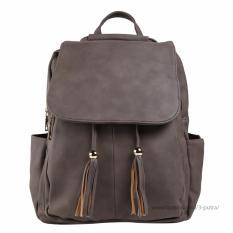 Beli Tas Fashion Import Tas Ransel Wanita Backpack Wanita Tas Santai Travel Backpack Wanita 3P 28056 Fashion Leather Backpack Brown Coffe Lengkap