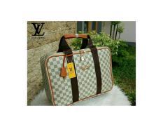 Tas Fashion Wanita Branded Travel LV Lois Vuitton Model Koper Big Azur