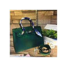 Tas Fashion Wanita JELLY MATTE BIRKIN (green)
