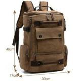 Harga Tas Gemblok Kanvas Mugu 8831 Coklat Ransel Import Backpack Tas Punggung Tas Sekolah Kuliah Kerja Laptop Pria Wanita Online