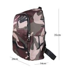 Beli Tas Impor Tas Ransel Tas Punggung Backpack Travel Bag Wanita 3P Loreng Ransel Wanita Nyicil
