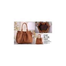 TAS IMPORT Supplier AGEN GROSIR MURAH FASHION BAG WANITA KOREA 45105 Serut Selempang WM Fashionis