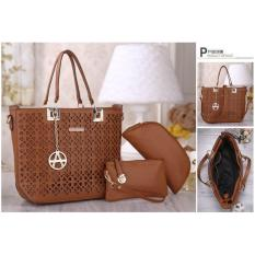 Jual Tas Import Tas Fashion Tas Batam Aqila Pca2508 Brown Online