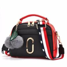 TAS IMPORT TAS WANITA TAS FASHION TAS KOREA MURAH MODEL MJ POMPOM