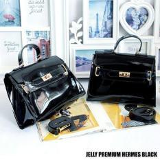 Tas Jelly Hermes Premium Black