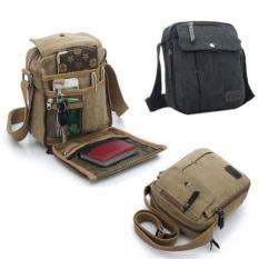 Obral Tas Kantor Kanvas Selempang Import Pria Sling Bag Multifungsi Murah