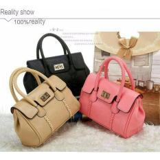 Harga Tas Kantor Wanita Loli Bag Warna Soft Pink Online