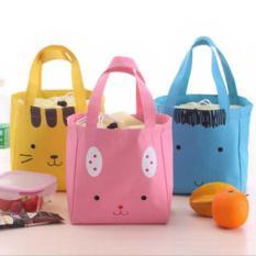 Promo Tas Kanvas Hewan Lucu Cute Animal Cotton Canvas Lunch Bag Bta013 Murah